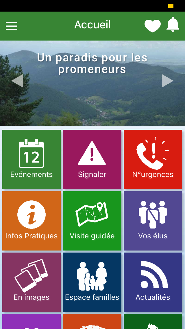 application mobile d'Eschbach-au-Val - mymairie