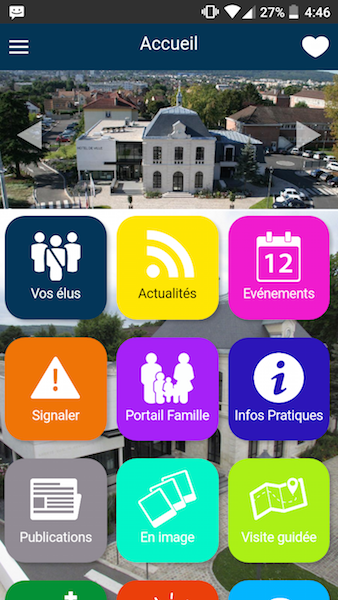 Application mobile ville du Plessis Bouchard