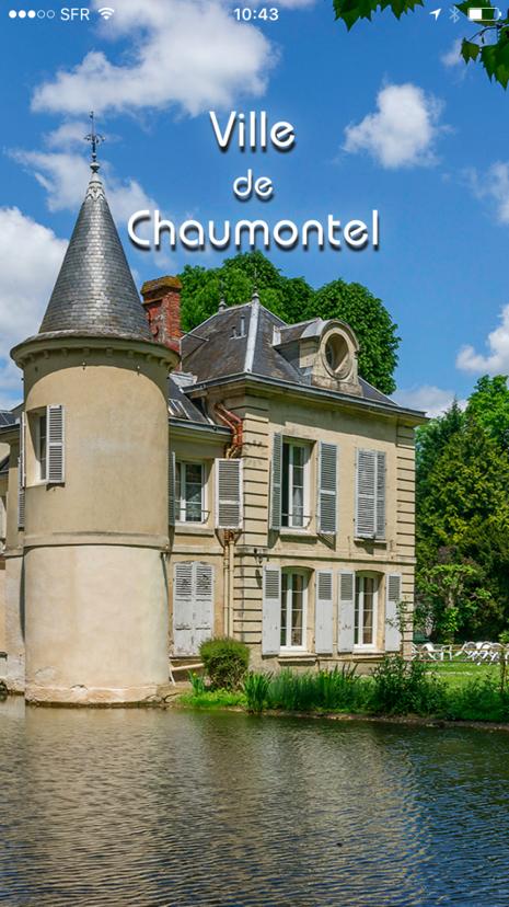 appli mobile villle de Chaumontel