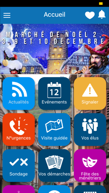 application mobile de Ribeauvillé - mymairie