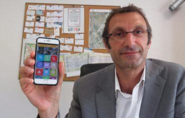 Article de presse Le Parisen Chaumontel Application mobile Mymairie