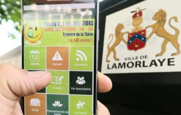 Lamorlaye Application mobile Mymairie