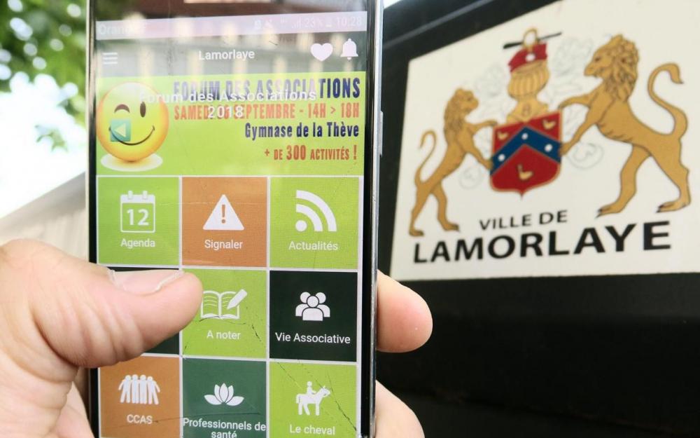 Lamorlaye Application mobile Mymairie